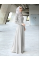 NAYRA DRESS - LIGHT GREY