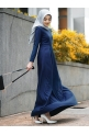 NAYRA DRESS - NAVY BLUE